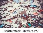 Small photo of pieces of a puzzle