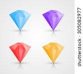color crystals set  crystal...