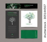 Business Cards Template With...