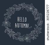 Hello Autumn  Autumnal Round...