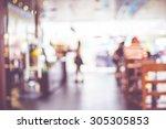 blurred background   people in... | Shutterstock . vector #305305853