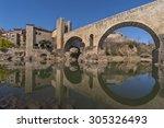 Bridge In Besalu  Spain