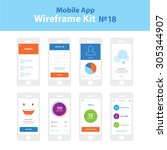 mobile app wireframe ui kit 18. ...