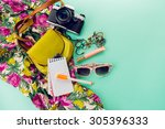 close up lifestyle photo of... | Shutterstock . vector #305396333