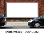 billboard in the street | Shutterstock . vector #30540682