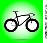 best sprinter bicycle vector | Shutterstock .eps vector #305434943