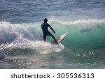 gran canaria  canary islands  ... | Shutterstock . vector #305536313