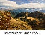 Pyrenees In Autumn  Andorra