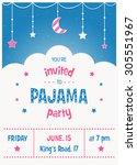 pajama sleepover kids' party...