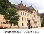 parliament building on peter... | Shutterstock . vector #305757113