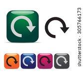 return icons | Shutterstock .eps vector #305766173