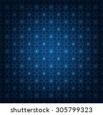 vector illustration of abstract ... | Shutterstock .eps vector #305799323