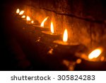 Nepalese Candles Lighting A...