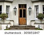 English Village Cottage House...