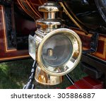 Brass Oil Lamp Used As A...