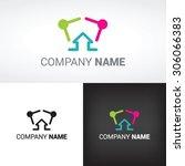 family logo concept | Shutterstock .eps vector #306066383