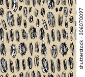 vector seamless pattern with...   Shutterstock .eps vector #306070097