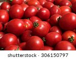 red juicy tomatoes | Shutterstock . vector #306150797