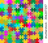 Different Colored 121 Puzzle...