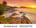 Stock photo patong beach phuket island thailand 306226703