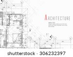 architecture background | Shutterstock .eps vector #306232397