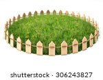 Round Island With A Grass Lawn...