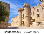 the palace of the grand masters ... | Shutterstock . vector #306247073