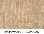 burlap sacking texture... | Shutterstock . vector #306263657