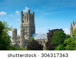 Ely Cathedral In Rural...