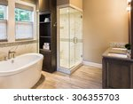 Large Furnished Bathroom In...