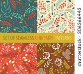 Seamless Christmas Patterns...