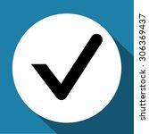 check mark symbol vector | Shutterstock .eps vector #306369437