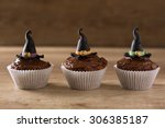 Halloween Cupcakes With Witch...