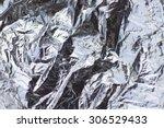 Crumpled Aluminium Foil