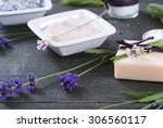 moisturizer cream  soap and... | Shutterstock . vector #306560117