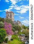 castle of saint peter in bodrum ... | Shutterstock . vector #306640967