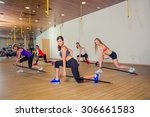 fitness  sport  training and...   Shutterstock . vector #306661583