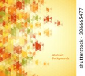 abstract mosaic backgrounds   Shutterstock .eps vector #306665477