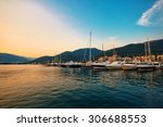Sailing Boats And Yachts In...