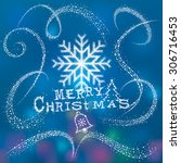 Christmas Snowflake With Magic...