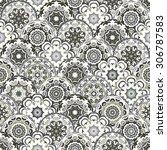 stylish  ornamental seamless... | Shutterstock .eps vector #306787583