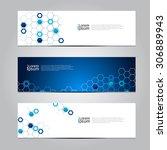 vector design banner network... | Shutterstock .eps vector #306889943