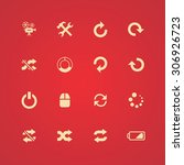 dj icons universal set for web... | Shutterstock . vector #306926723