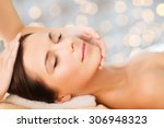 spa  beauty  people and body... | Shutterstock . vector #306948323
