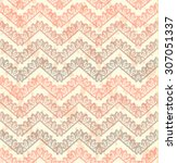lace vector seamless pattern...   Shutterstock .eps vector #307051337
