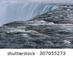 A Close Up Of The Water At The...