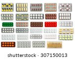 Collection Of Pills In...