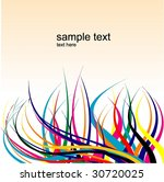 abstract background vector... | Shutterstock .eps vector #30720025