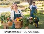 Portrait Of A Farmer Woman...
