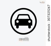 car .car icon. transportation...   Shutterstock .eps vector #307325267